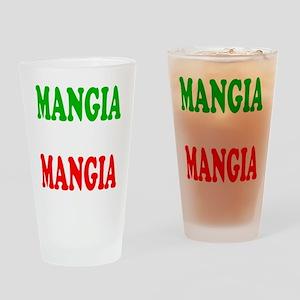 Mangia Drinking Glass