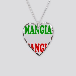 Mangia Necklace Heart Charm