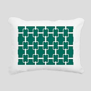 Rectangle Links PC W Dk  Rectangular Canvas Pillow