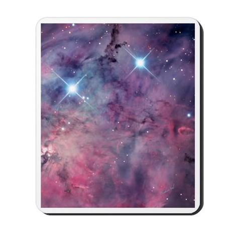 Cosmic Lagoon Nebula Mousepad