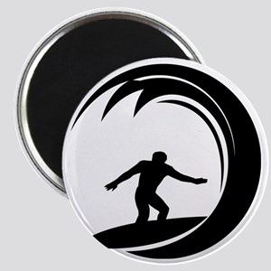 tribal surfing design Magnet