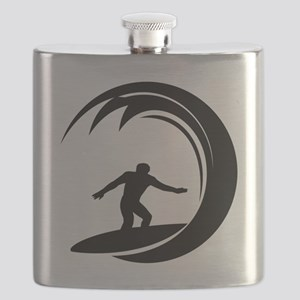 tribal surfing design Flask