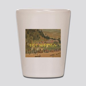 Hot Springs Shot Glass