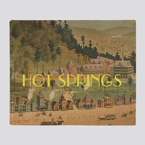 Hot Springs Throw Blanket