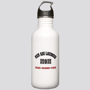 Kick Ass Lacrosse Mom Stainless Water Bottle 1.0L