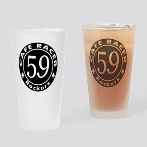 Cafe racer - Rockers Drinking Glass