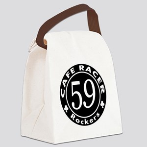 Cafe racer - Rockers Canvas Lunch Bag