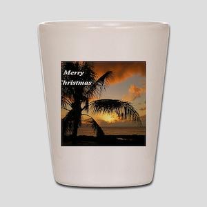 Sunset North Shore Oahu Shot Glass