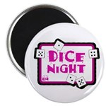 Dice Night Magnet