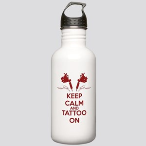 Keep calm and tattoo o Stainless Water Bottle 1.0L