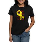 Wear Red on Fridays Women's Dark T-Shirt