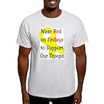 Wear Red on Fridays Light T-Shirt