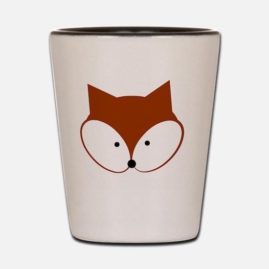 Curious Fox Shot Glass