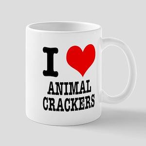I Heart (Love) Animal Crackers Mug