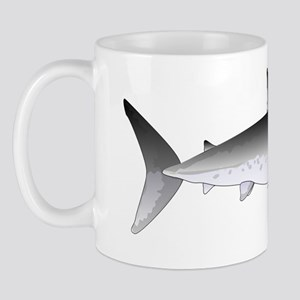 Megalodon Shark f Mug