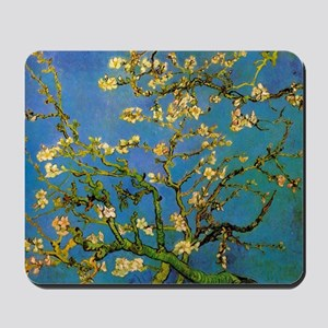 Blossoming Almond Tree by Vincent van Go Mousepad