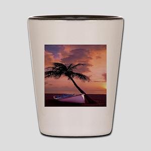 Beach Sunset FlippFF Shot Glass