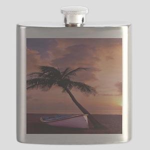 Beach Sunset FlippFF Flask