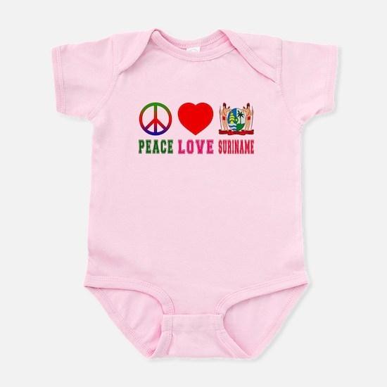 Peace Love Suriname Infant Bodysuit