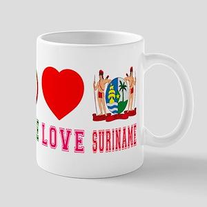 Peace Love Suriname Mug