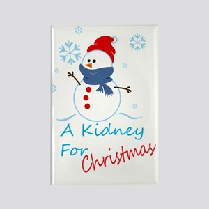 A Kidney For Christmas Rectangle Magnet