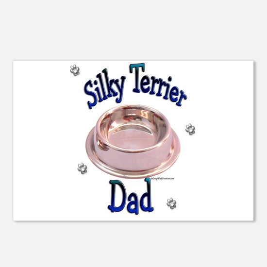 Silky Dad Postcards (Package of 8)