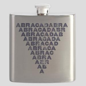 Abracadabra (dark inverted pyramid) Flask