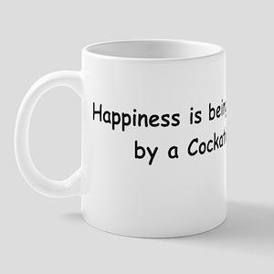 Happy Cockatiel Mug