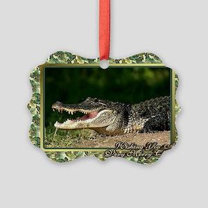 Alligator Christmas Ornaments - CafePress