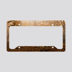 Heavenly Light License Plate Holder