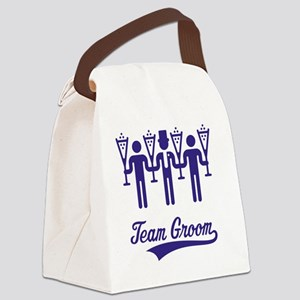 Team Groom (Bachelor Party / Stag Canvas Lunch Bag