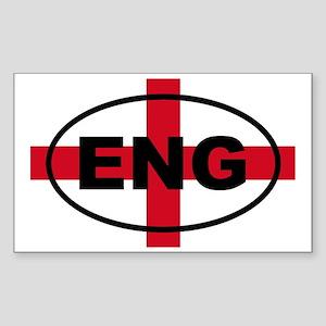 England ENG European Sticker (Rectangle)