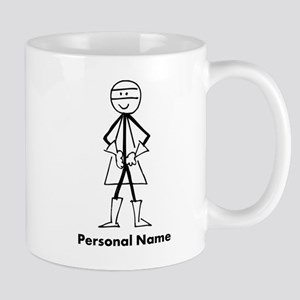 Personalized Super Stickman Mug