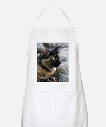 Tortoise Shelled Stray Apron
