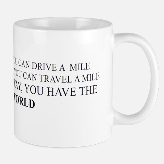 With a mile of Runway... Mug