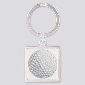 golf ball Square Keychain