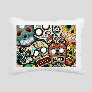 5x7_Rug61 Rectangular Canvas Pillow