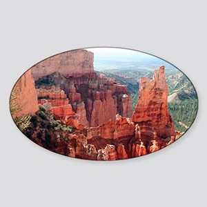 Bryce Canyon, Utah, USA 5 Sticker (Oval)
