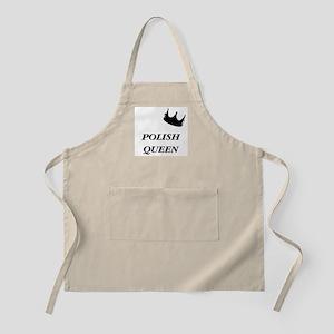 Polish Queen BBQ Apron