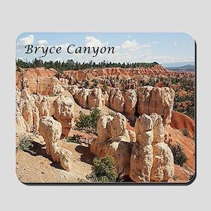 Bryce Canyon, Utah, USA 8 (caption) Mousepad