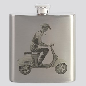 Scooter Cowboy Flask