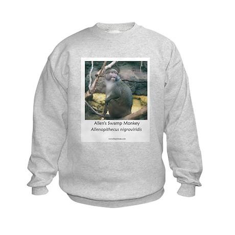 Allen's Swamp Monkey Kids Sweatshirt
