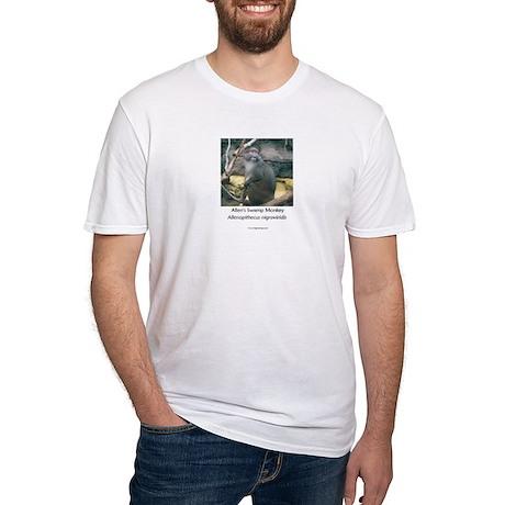 Allen's Swamp Monkey Fitted T-Shirt