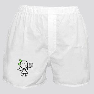 Girl & Volleyball Boxer Shorts