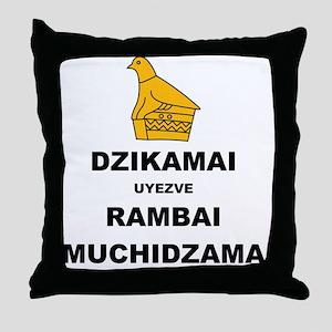 Keep Calm  Carry On (Shona Version 2  Throw Pillow