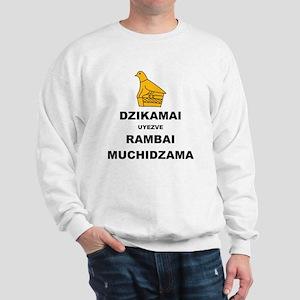 Keep Calm  Carry On (Shona Version 2 Co Sweatshirt
