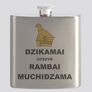 Keep Calm  Carry On (Shona Version 2 Color) Flask