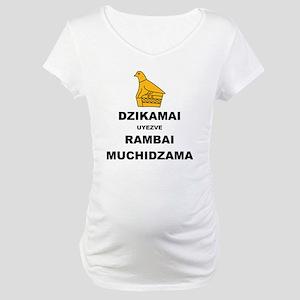 Keep Calm  Carry On (Shona Versi Maternity T-Shirt