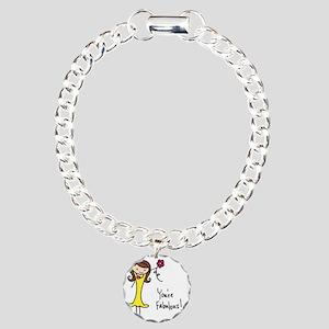 Fabulous Flo Charm Bracelet, One Charm