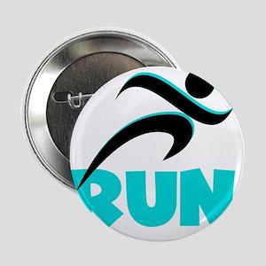 "RUN Aqua 2.25"" Button"